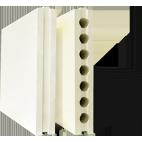 Плиты гипсовые для перегородок полнотелые 667*500*80 Гипсополимер