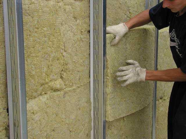 утепление стен каменной ватой технониколь