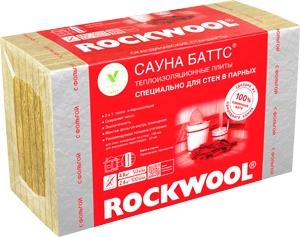 Роквул Сауна Баттс был разработан специально для бань и саун
