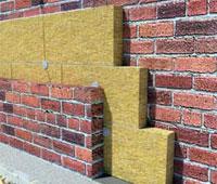 Особенности   фасадного монтажа  минераловатной  теплоизоляции