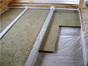 Теплоизоляции пола,  материалы  и  монтаж