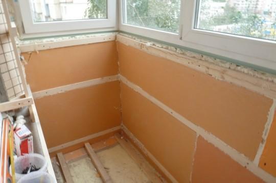 Внутренняя теплоизоляция стен в панельных домах